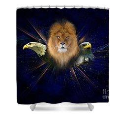 Manifold Presence Shower Curtain