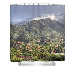 Manitou To The South I Shower Curtain by Lanita Williams