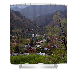 Shower Curtain featuring the photograph Manitou To The South IIi by Lanita Williams