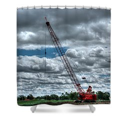 Manitowoc Shower Curtain by M Dale