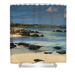 Mannin Bay Ireland Shower Curtain