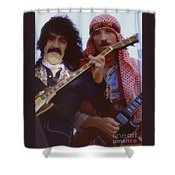 Manny Charlton And Zal Cleminson Of Nazareth  At Day On The Green 4th Of July 1979 Shower Curtain
