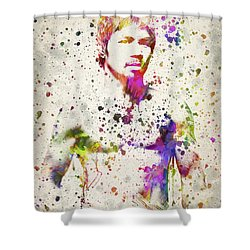 Manny Pacquiao Shower Curtain by Aged Pixel