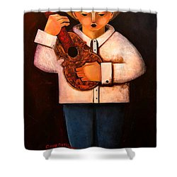 Manolito El Cuatrista 1942 Shower Curtain