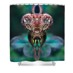 Mantis Shower Curtain by WB Johnston