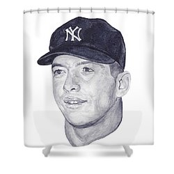 Mantle Shower Curtain