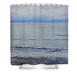 Manx Mist Shower Curtain