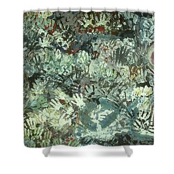 Many Desperate Hands Shower Curtain