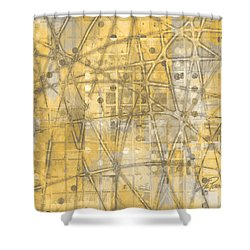 Map Of Secrets  Shower Curtain by Ann Powell