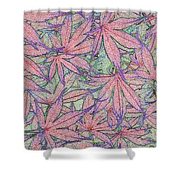 Maple Leaves No.3 Shower Curtain