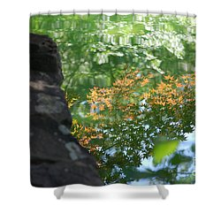 Maple Reflections Shower Curtain