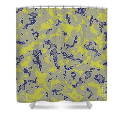 Marble  Shower Curtain by Lali Kacharava