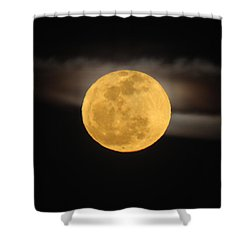 March Full Moon Shower Curtain