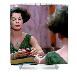 Marcia Gay Harden As Verna Bernbaum In The Film Miller S Crossing By Joel And Ethan Coen Shower Curtain