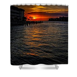 Marco Island Sunset 43 Shower Curtain