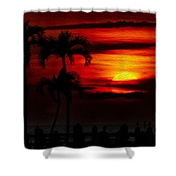 Marco Island Sunset 59 Shower Curtain
