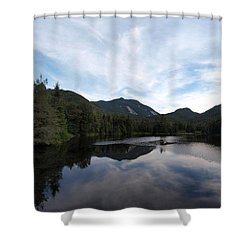 Marcy Dam Pond Shower Curtain