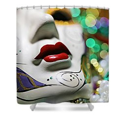 Mardi Gras II Shower Curtain by Trish Mistric