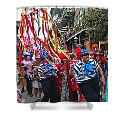 Mardi Gras In New Orleans Shower Curtain