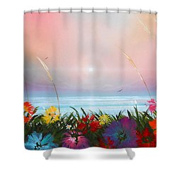 Marflo 3 Shower Curtain by Angel Ortiz