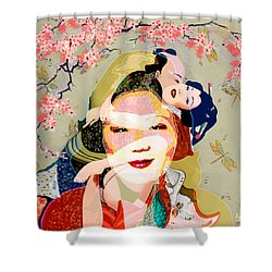 Margaret Cho 4 Shower Curtain
