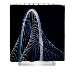 Margaret Hunt Hill Bridge Shower Curtain