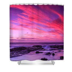 Margaret River Sunset Shower Curtain