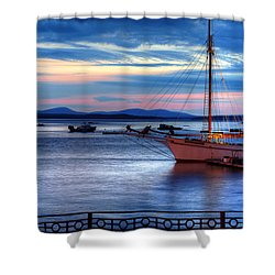 Margaret Todd At Sunrise Shower Curtain