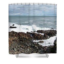 Marginal Way Shower Curtain