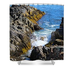 Marginal Way Crevice Shower Curtain