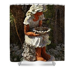 Marguerite Shower Curtain by Carla Parris