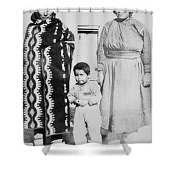 Shower Curtain featuring the photograph Maria Martinez (1887-1980) by Granger