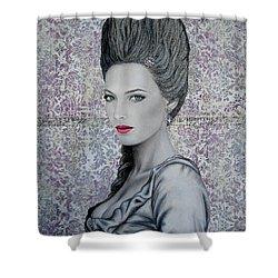 Marie Shower Curtain by Lynet McDonald