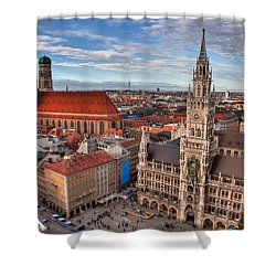 Marienplatz Shower Curtain
