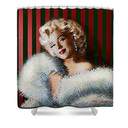 Marilyn 126 D 3 Shower Curtain
