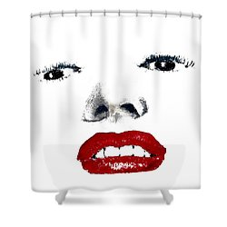 Marilyn II Shower Curtain by David Patterson