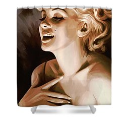 Marilyn Monroe Artwork 1 Shower Curtain