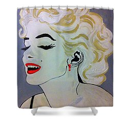 Marilyn Monroe Beautiful Shower Curtain