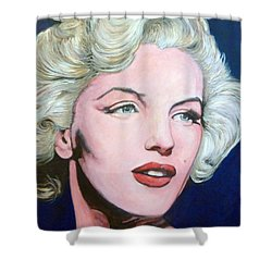 Marilyn Monroe Shower Curtain by Tom Roderick