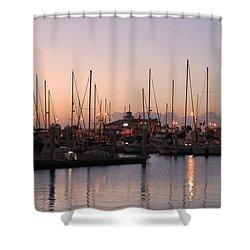 Marina Sunrise 12 Shower Curtain