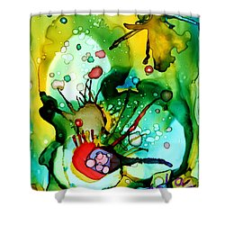 Marine Habitats Shower Curtain