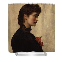 Marion Collier Shower Curtain by Philip Ralley