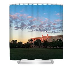 Marion Square Sunrise Shower Curtain