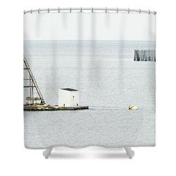 Maritime Dreams... Shower Curtain by Nina Stavlund