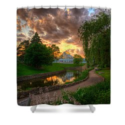 Marjorie Mcneely Conservatory Reflections Shower Curtain