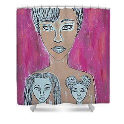 Marked Memory Shower Curtain
