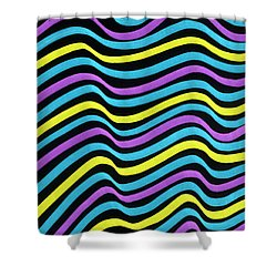 Marker Pattern 2 Shower Curtain