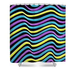 Marker Pattern 2 Shower Curtain by Hakon Soreide
