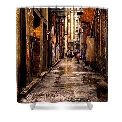 Market Square Alleyway - Knoxville Tennessee Shower Curtain by David Patterson