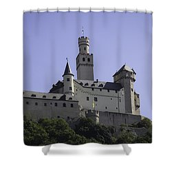 Marksburg Castle 18 Shower Curtain